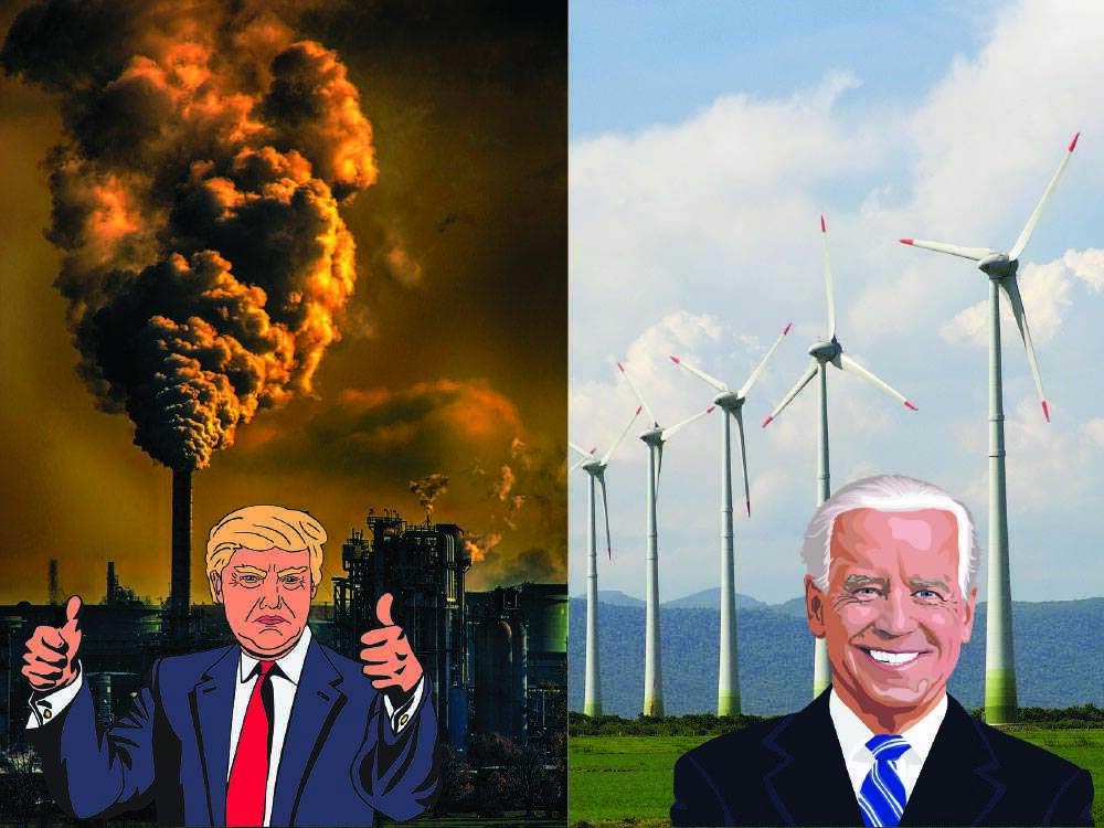 Biden versus Trump