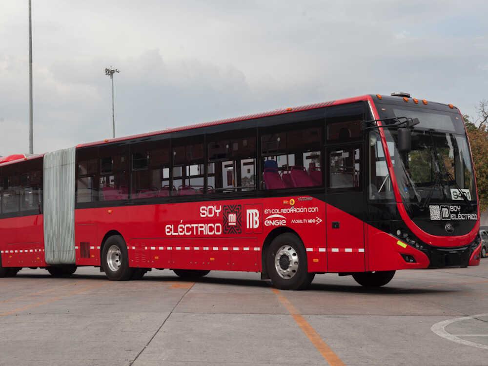 buses electricos llegan a la CDMX
