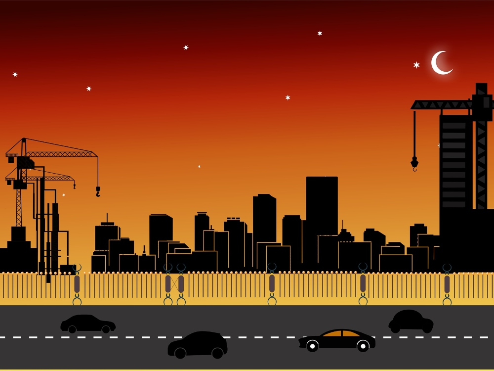 ciudad, construccion, renovacion