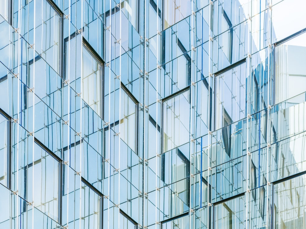 Decoracion de fachadas con cristal