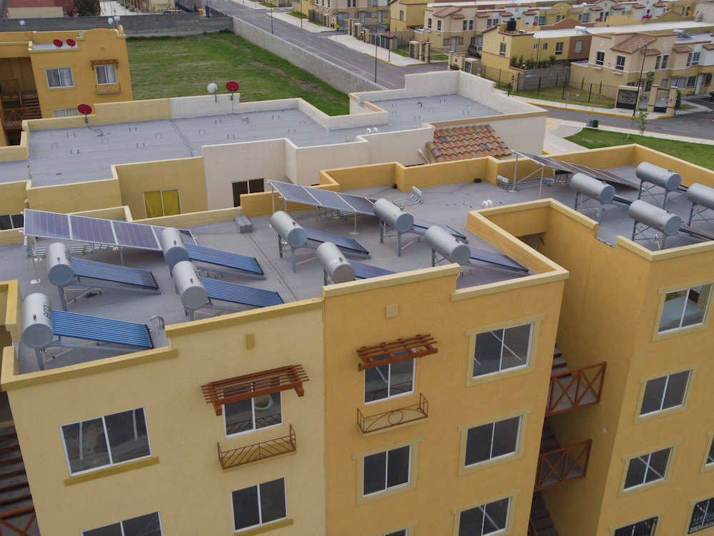 desarrollo de viviendas cero gas Mexico