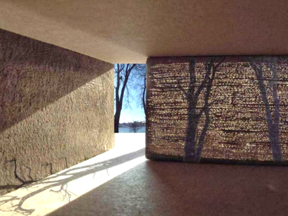ejemplo de concreto traslucido