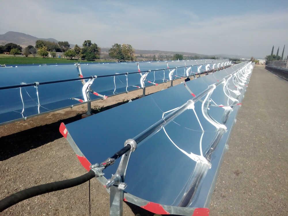 Instalacion de precalentamiento de agua