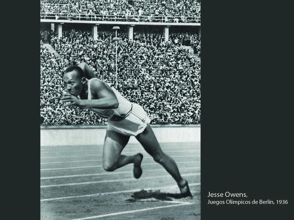 Jesse Owens juegos olimpicos 1936