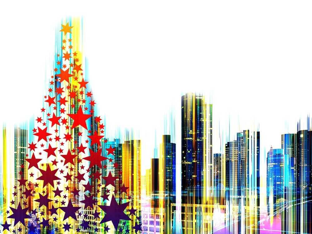 navidad, arquitectura,