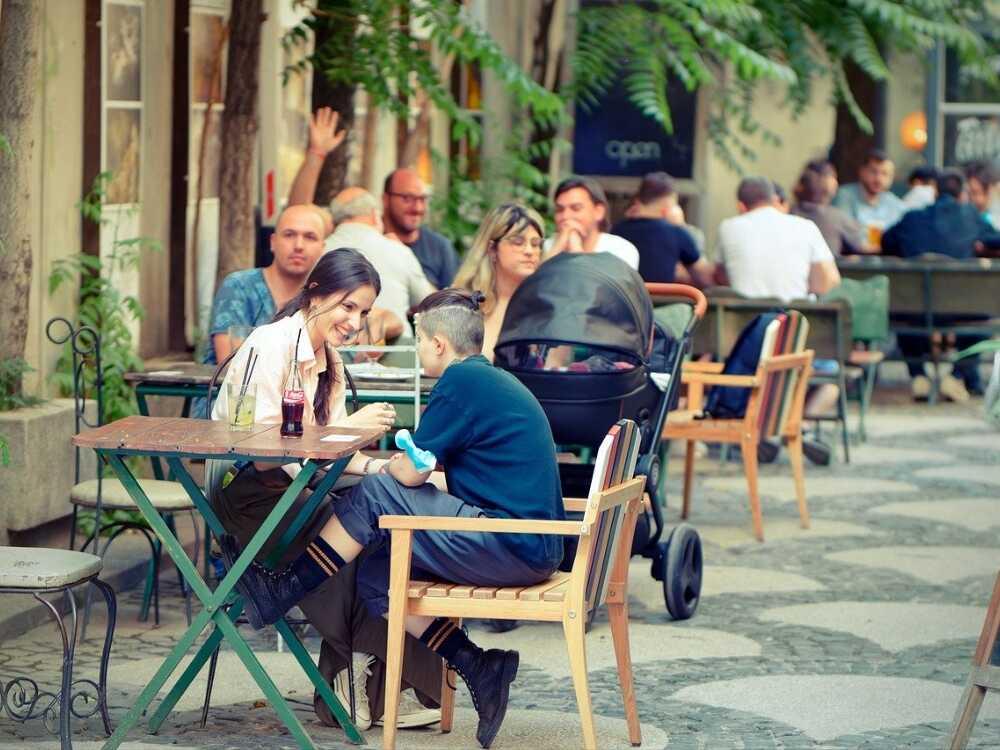 restaurantes al aire libre