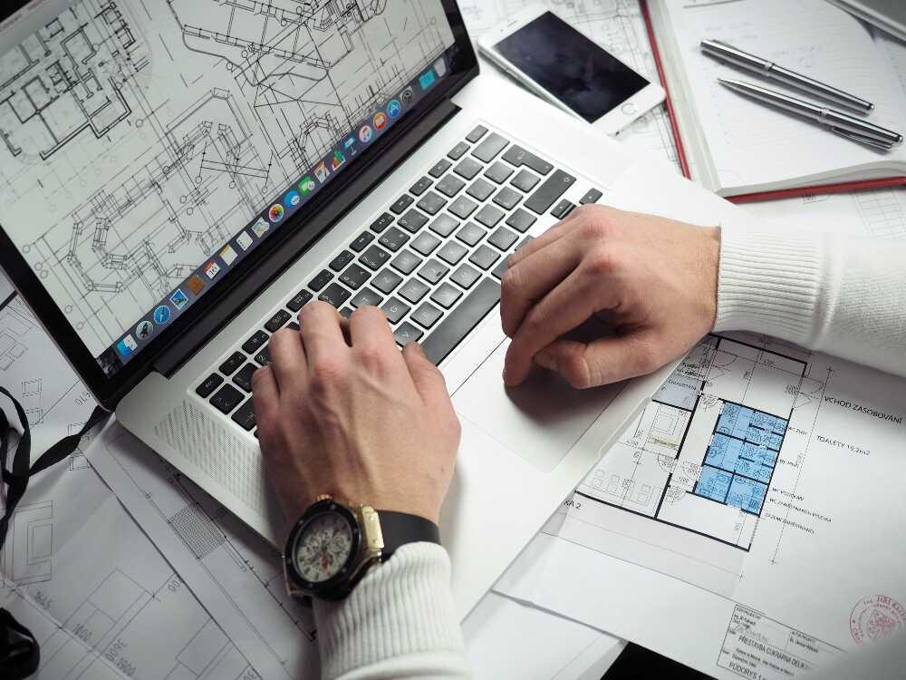 tecnología, construcción