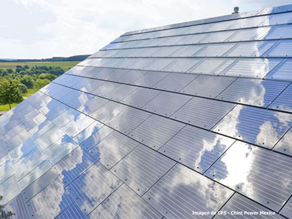 tejas solares CPS Mexico