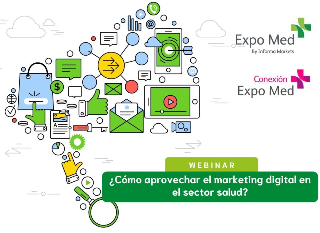 webinar marketing digital salud