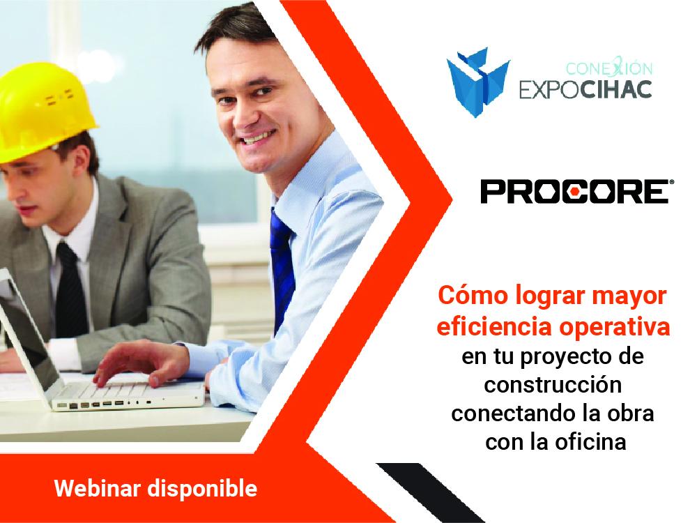 Webinar Mejorar Eficiencia Operativa Construccion