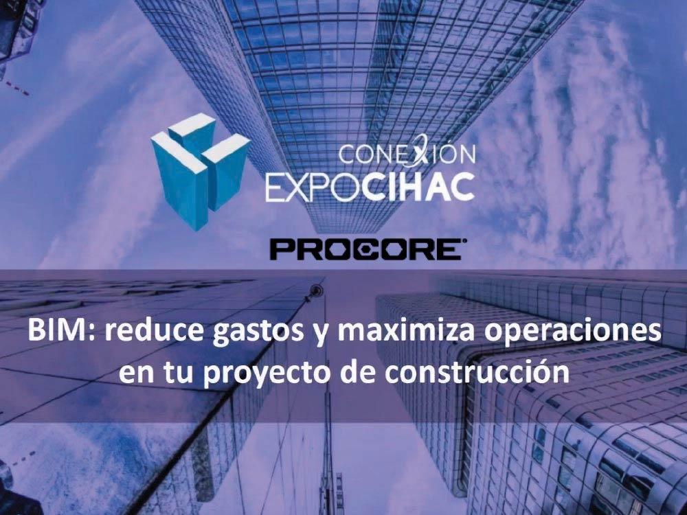 webinar sobre BIM en Conexion Expo CIHAC